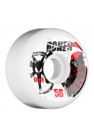 Bones DTF Reaper - 58mm - White - Skateboard Wheels