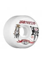 Bones Street Tech Formula Skatopia - 54mm - White - Skateboard Wheels