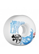 Bones Street Tech Formula Grind for Life 3 - 53mm - White - Skateboard Wheels