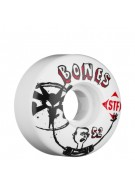 Bones Street Tech Formula Los Otros - 52mm - White - Skateboard Wheels