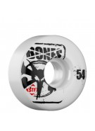Bones Street Tech Formula Slim - 54mm - White - Skateboard Wheels