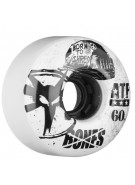 Bones All Terrain Formula Helmet - 60mm - White - Skateboard Wheels