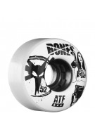 Bones All Terrain Formula Smoking  - 52mm - White - Skateboard Wheels