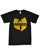 Wu-Tang Band Classic Yellow Logo - Black - Band T-Shirt
