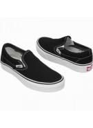 Van's Classic Slip On - Men's Shoes - Black (Suede)