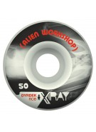 Alien Workshop X Ray Rob Dyrdek  - Black/White - 50mm - Skateboard Wheels