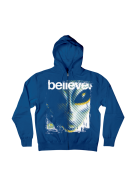 Alien Workshop Believe II Hoodie Full Zip - Royal - Mens Sweatshirt