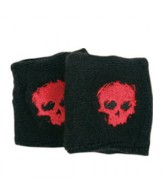 Zero Sweat Bands Blood Skull - Black/Red - Skateboard Accessory