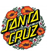 Santa Cruz Poppy Dot Decal 3in - Sticker