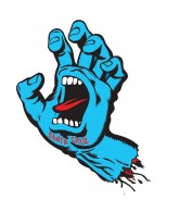 Santa Cruz Screaming Hand Decal 3in - Blue - Sticker