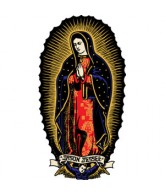 Santa Cruz Jessee Guadalupe Decal 6in - Multi - Sticker