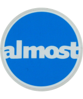 Almost Circle Sticker - 3.75in - Sticker - Assorted Colors