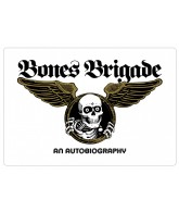 Bones Brigade: An Autobiography Sticker - White - Sticker