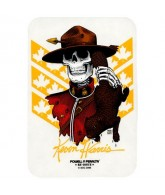 Powell Peralta Harris Mountie Sticker - White - Sticker
