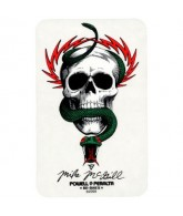 Powell Peralta Mike McGill Skull & Snake Sticker - White - Sticker