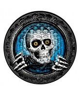 "Powell Peralta Pool Light Ripper 10"" Sticker - Black/Blue/White - Sticker"
