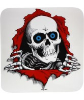 "Powell Peralta Ripper Ramp Decal 12"" - Clear - Sticker"