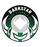 Darkstar Growler Park Plus Wheel - White/Black/Green - 53mm - Skateboard Wheels