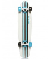 Globe Junior Tracer Cruiser - Off White/Horizon Blue/Black - 28 - Complete Skateboard