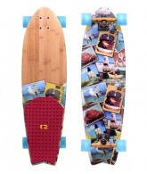 Globe Meat Wagon Cruiser - Multi - 33 - Complete Skateboard
