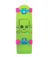 Santa Cruz Skate Simpsons Bart Model Cruzer 8.8in x 27in - Complete Skateboard