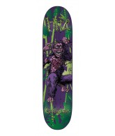 Creature Hitz Apeshit Powerply - 31.9in x 8.2in - Purple - Skateboard Deck