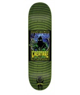 Creature Partanen Posters P2 - 31.9in x 8.2in - Green - Skateboard Deck