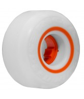 Ricta 54mm Speedrings White/Orange 83a - Skateboard Wheels