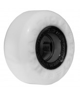 Ricta 56mm Templeton Chrome Core White Black Chrome 81b - Skateboard Wheels