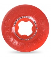Ricta Wheels Supercrystal - Clear / Red - 52mm