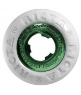 Ricta Wheels Appelyard Chrome Core - Dark Green/Chrome - 51mm
