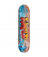 World Industries The Tagged Brick - Blue/Red - 7.75 - Skateboard Deck