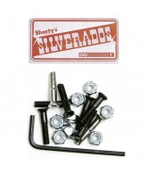 Shorty's Silverados Allen Head - Skateboard Mounting Hardware - 1 in