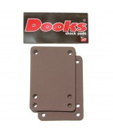 Shorty's Dooks Shock Pad - Skateboard Riser - 1/8 Inch