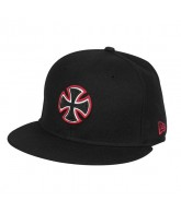 Independent  Unit New Era 59 Fifty - Black - Men's Hat