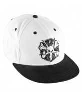 Bones Pentagram II - Black/White - Mens Hat