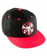 Bones Pentagram II OSFA - Black/Red - Mens Hat