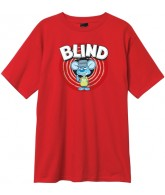 Blind Looney Rat S/S - Red - Mens T-Shirt