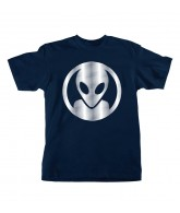 Alien Workshop Dot Moire Short Sleeve - Navy - Men's T-Shirt