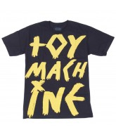 Toy Machine Toy Machine - Black / Yellow - Men's T-Shirts
