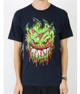 Spitfire Zombie Apocalypse S/S - Navy - Men's T-Shirt - Medium