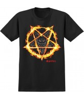 Spitfire Burn Forever S/S - Black - Men's T-Shirt