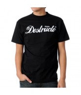 Destructo Ride Tee - Men's T-Shirt - Black - Medium