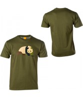 Enjoi Camoustache S/S Tee - Military Green - Mens T-Shirt