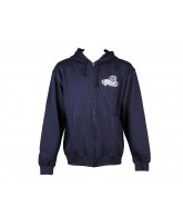 Darkstar Quality Zip Up Hood - Navy - Sweatshirt