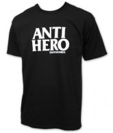 Anti-Hero Black Hero S/S - Black/White - Men's T-Shirt