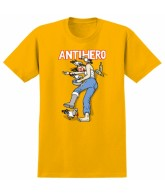 Anti-Hero S/S One Eye Chick - Gold - T-Shirt