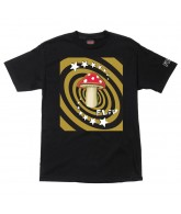 Flip Mushroom Regular S/S - Black - Mens T-Shirt