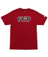 Flip HKD Regular S/S Red - Mens T-Shirt