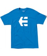 Etnies Icon 10 - Royal - Men's T-Shirt - Small